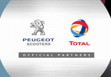 TotalEnergies in Peugeot Scooters